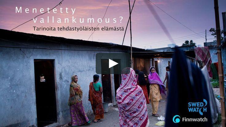 Video vaateteollisuuden rakenteellisista ja sosiaalisista ongelmista. Video soveltuu yläkoululaisille ja vanhemmille.