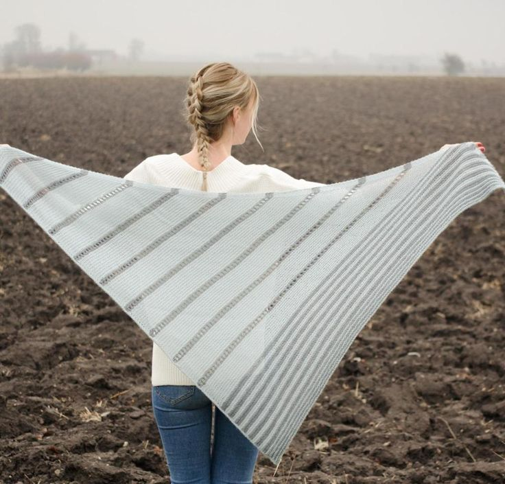 It might be called the Swedish Lines Shawl Kit, but the results are fashionable anywhere! You'll receive a pattern and Cloudborn Baby Alpaca Fingering yarn to knit this light, airy shawl that shines in any season. Work yours up and revel in the soft hand and incredible dye saturation that can only come from the finest alpaca.