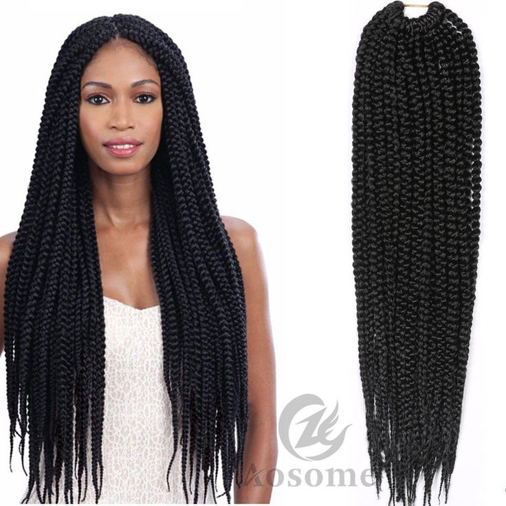 15 best box braids images on pinterest box braids hair care and 18 pretwist 3x box braids twist braid crochet synthetic hair extensions black pmusecretfo Image collections