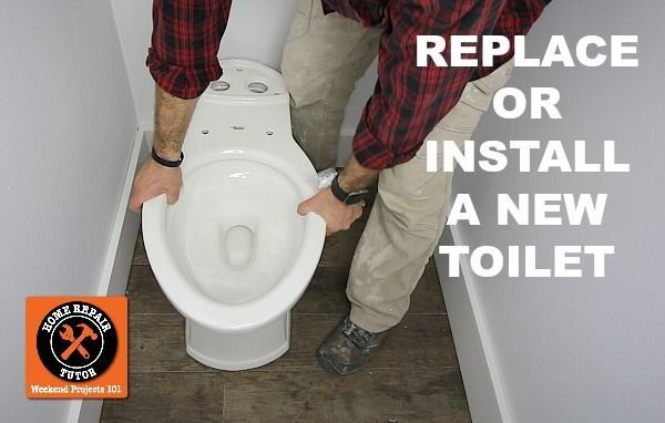 How to Replace a Toilet (Step-by-Step)                                                                                                                                                                                 More