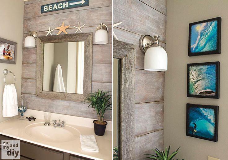 Easy, Breezy Summer Bathroom Accents
