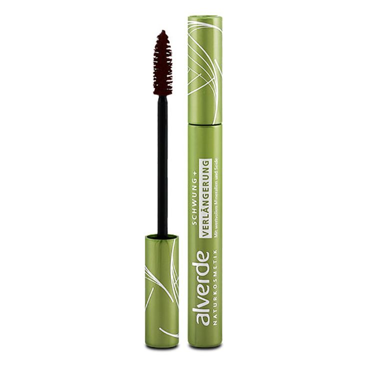 ALVERDE Natural Cosmetics Curl + Extension Mascara 7 ml (Brown) | Get Some Beauty