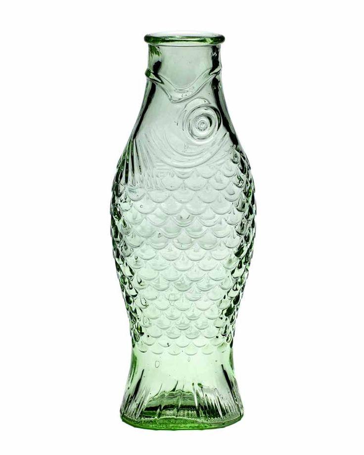 The Herring Bar - 1Ltr Fish Bottle Carafe - Eliza Barnes