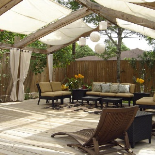 Great Pergola With Fabric Roof | Backyard Makeover Ideas | Pinterest | Pergolas,  Backyard And Backyard Makeover