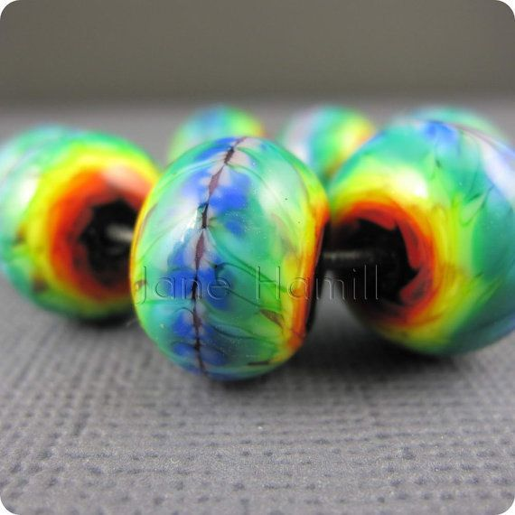 lampwork bead tie dye google search