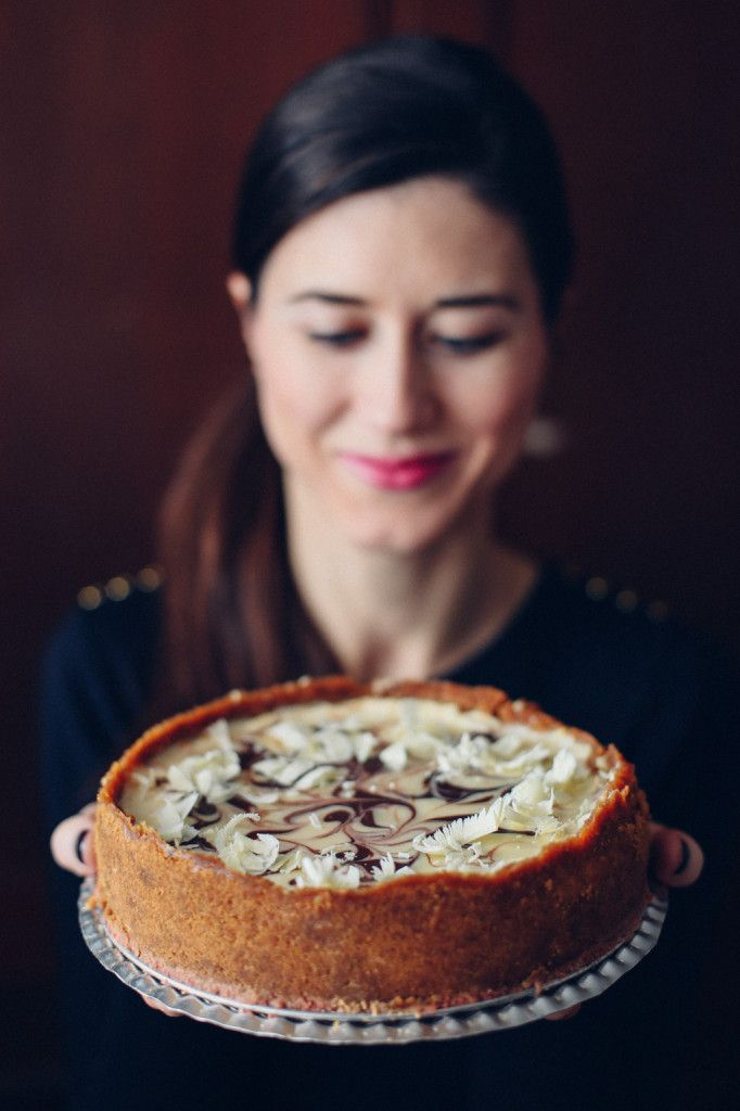 Tvarohový cheesecake s bielou čokoládou