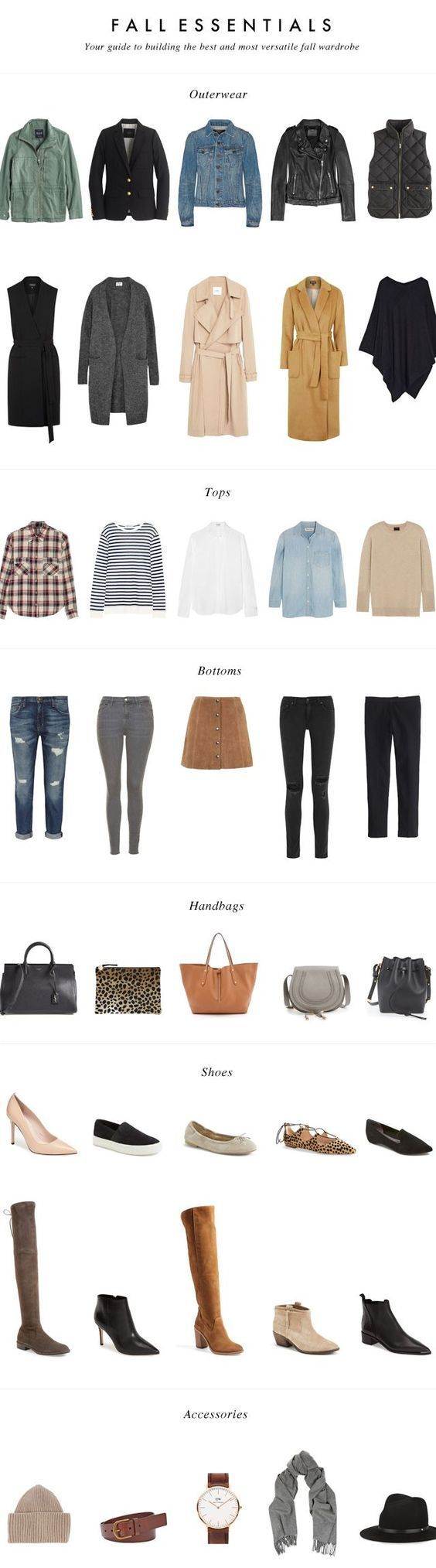 MINIMAL + CLASSIC: Fall Essentials: Your Guide to building the best and most versatile fall wardrobe