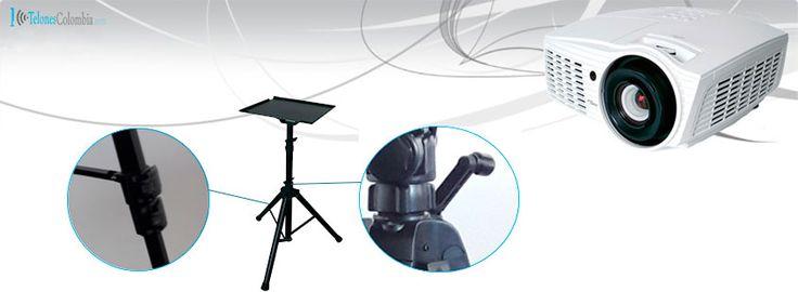 Soporte tripode portatil para video beam