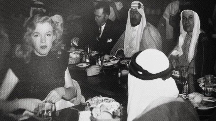 MM at Gox commissary while filming Scudda Hoo Scudda Hay, 1948