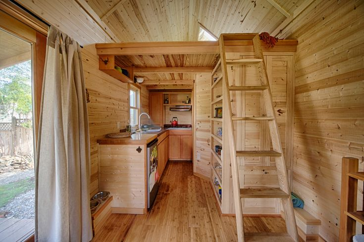 "Gina's ""Sweet Pea"" tiny house by Portland Alternative Dwellings (plans ..."