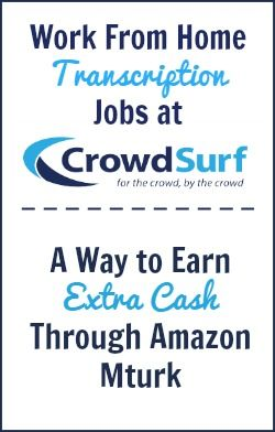 CrowdSurf offers a way to get paid doing short transcription tasks on Amazon Mturk. This is flexible work you can do anytime you want, and it's possible to get paid multiple times per week.