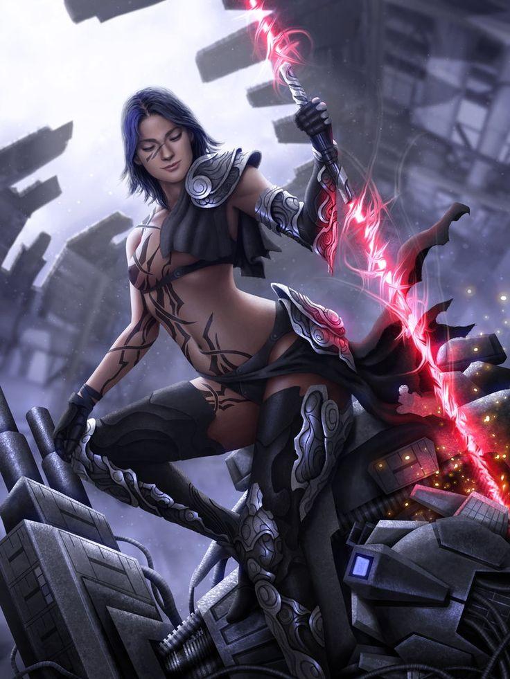 nude women in sci fi ships
