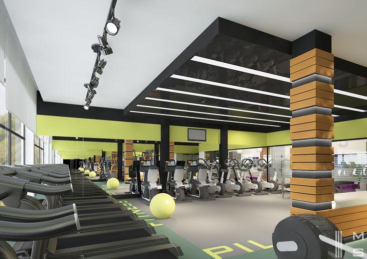 Miles İçmimarlık Mimarlık / Dereli Belediyesi Sosyal Tesisleri Fitness Salonu Tasarımı