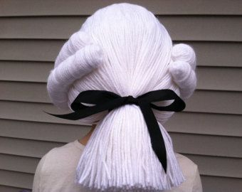 Image result for colonial paper wigs