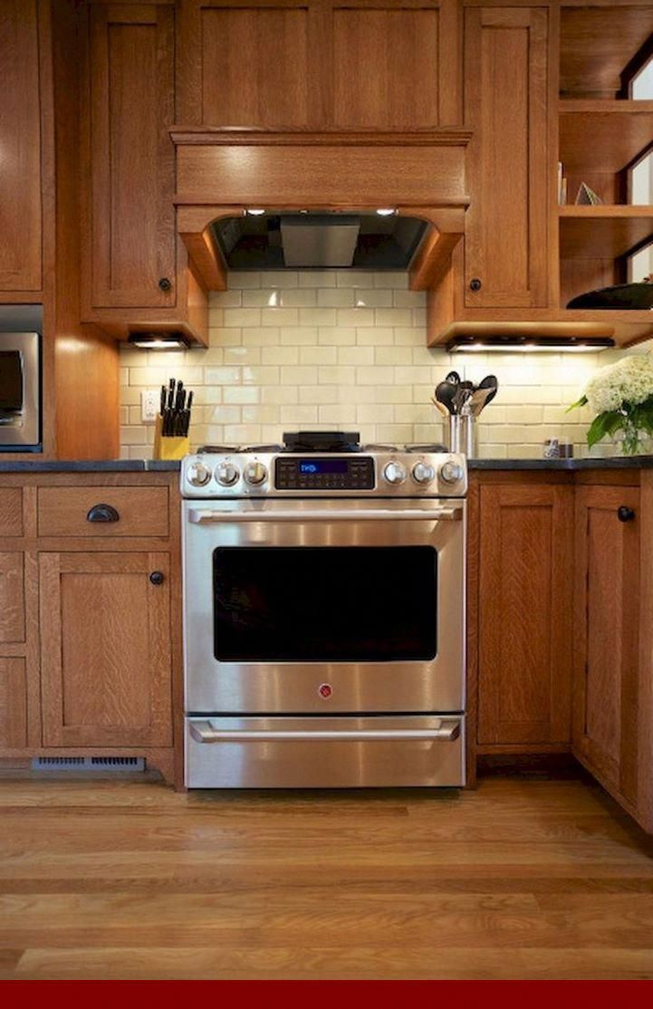 Ideas On Oak Stereo Cabinets With Glass Doors Oakkitchencabinets Kitchencabinets Oak Kitchen Honey Oak Cabinets Oak Kitchen Cabinets
