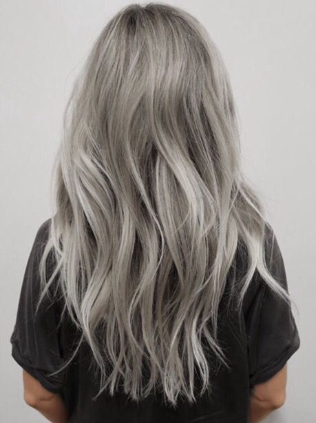 Ive been obsessing over silver toned blonde hair