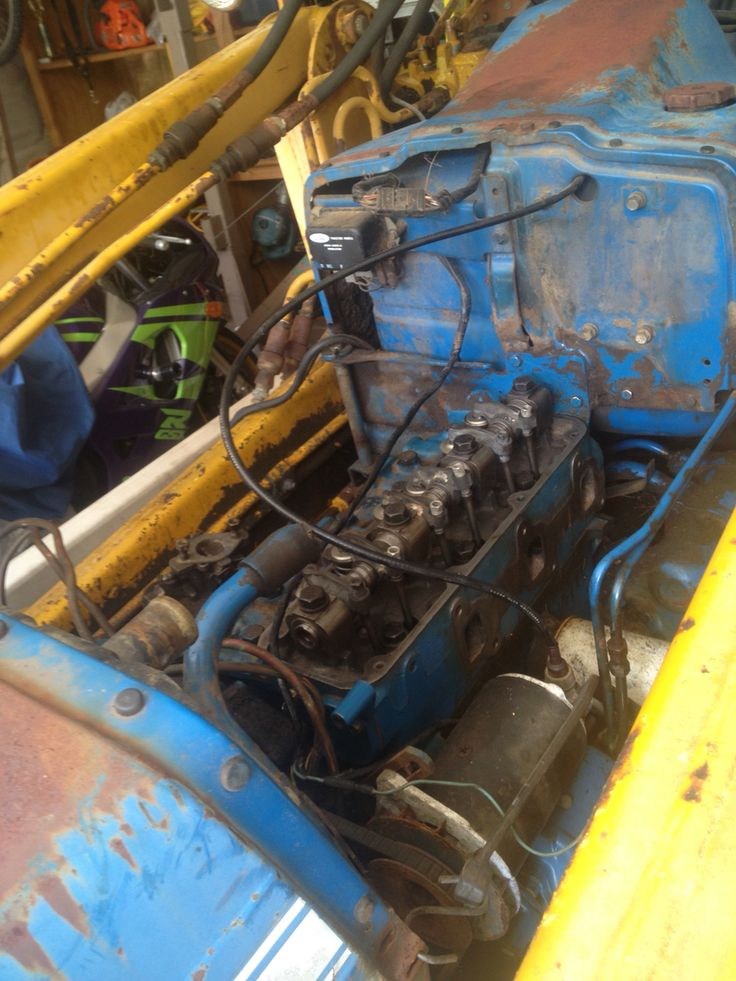 Ford 3000 Tractor Engine Rebuild Kit : Ford in frame engine rebuild almost done tractor