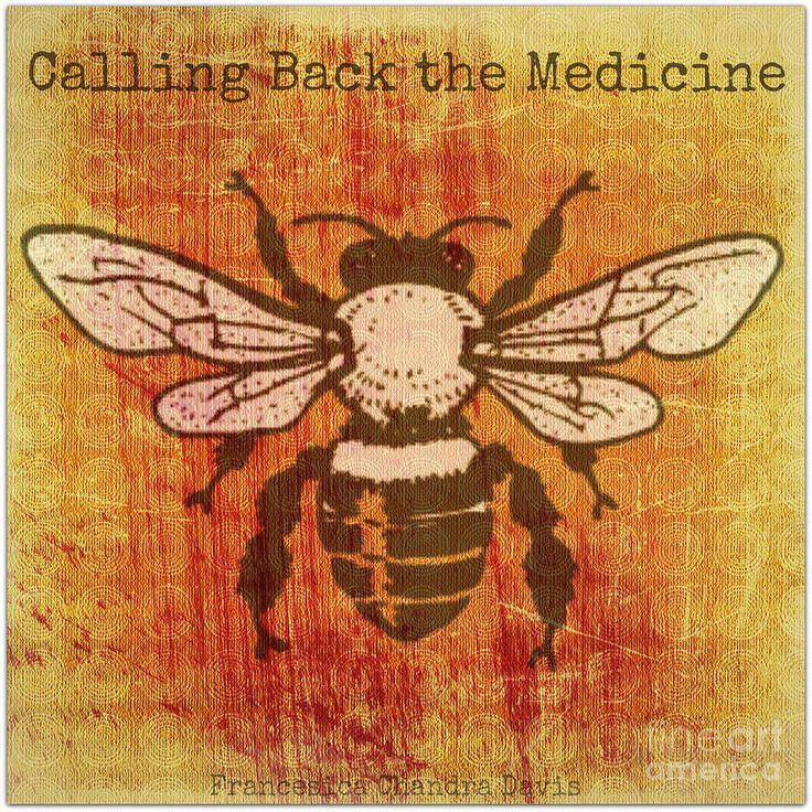 Sacred Bee Medicine Artist Muse