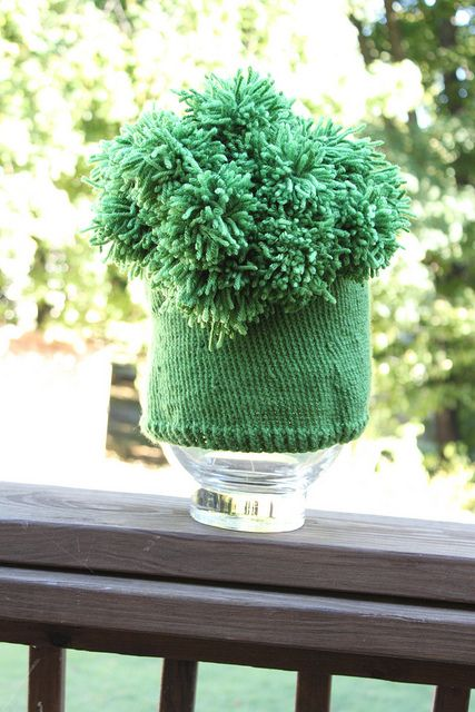 Broccoli Hat by mrsallenteacher, via Flickr