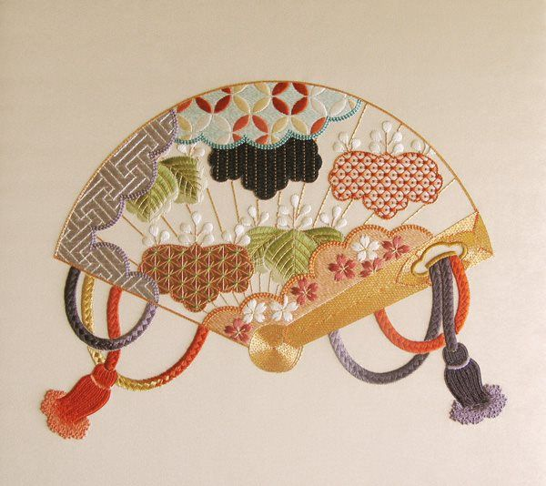 Nuido and embroidery designs japanese center