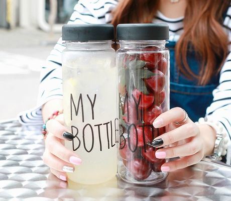 Loveliness of the female clothing shop. [Whitefox] Mine MY BOTTOLE / Size : FREE / Price : 11.48 USD #korea #fashion #style #fashionshop #apperal #koreashop #ootd #whitefox #acc #mybottle #bottle #tumbler