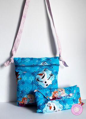 #regalos #infantil #bolso #bandolera #estuche #niñas #frozen #handmade