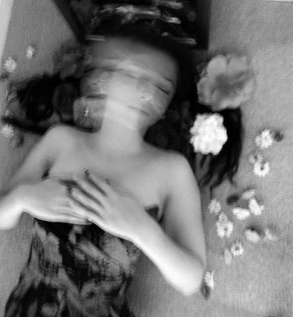☽ Dream Within a Dream ☾ Misty Blurred Art and Fashion Photography - Francesca Woodman