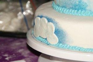 Sprookjesachtige Pegasus 3 lagen taart | Taarten maken, taart bakken en cupcakes versieren | Taart recepten