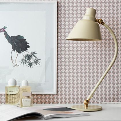 Arne - endnu et Arne Jacobsen design, mønstret var oprindeligt tænkt til tekstil, men det fungerer også rigtig fint på væggen.