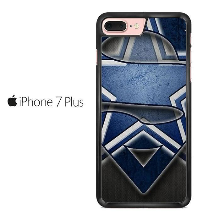 Dallas Cowboy Superman Logo Mid Iphone 7 Plus Case