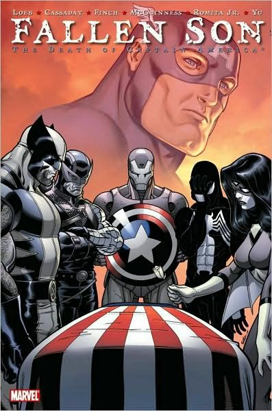 "Fallen Son: The Death of Captain America......... Want to know what Captain America 3 is called? ""The Fallen Son."""