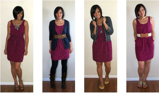 Putting Me Together: One Piece Many Ways: My Oh-So-Popular Target Dress