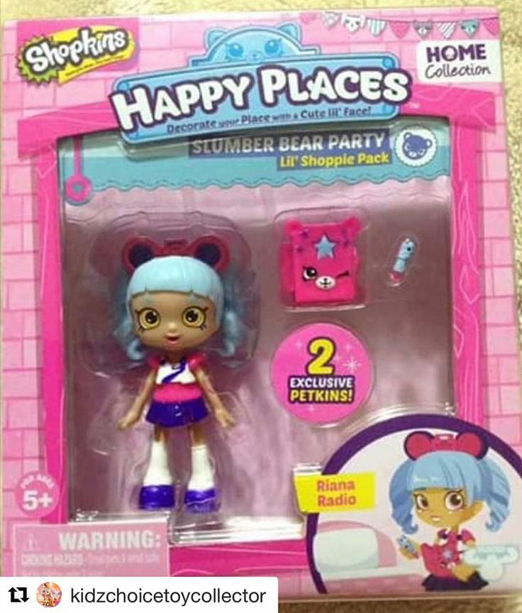 Riana Radio Is One Of The Shopins Happy Places Shopkins