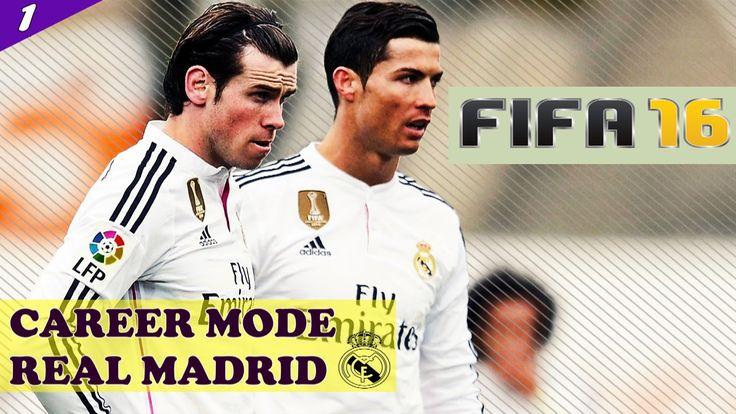 FIFA 16 CAREER MODE REAL MADRID #1 - TRANSFERS AND START - Season 1 Epis...