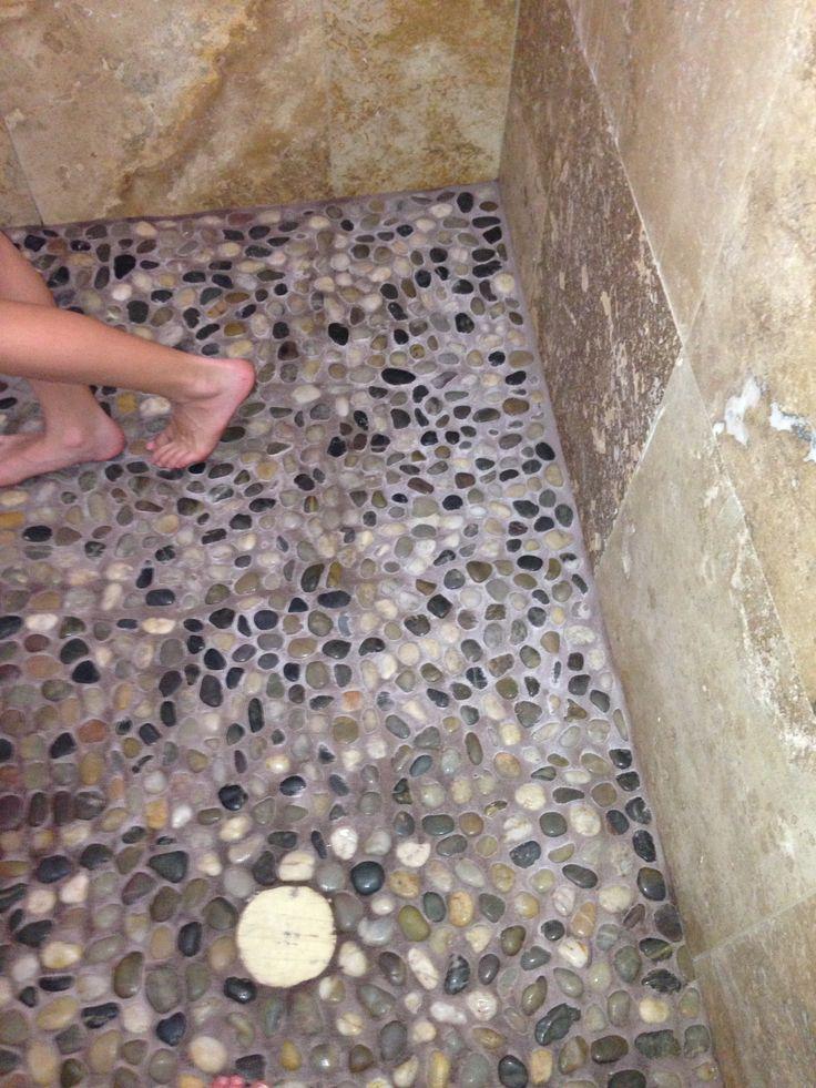 Pebble Shower Flooru003d Foot Massage!