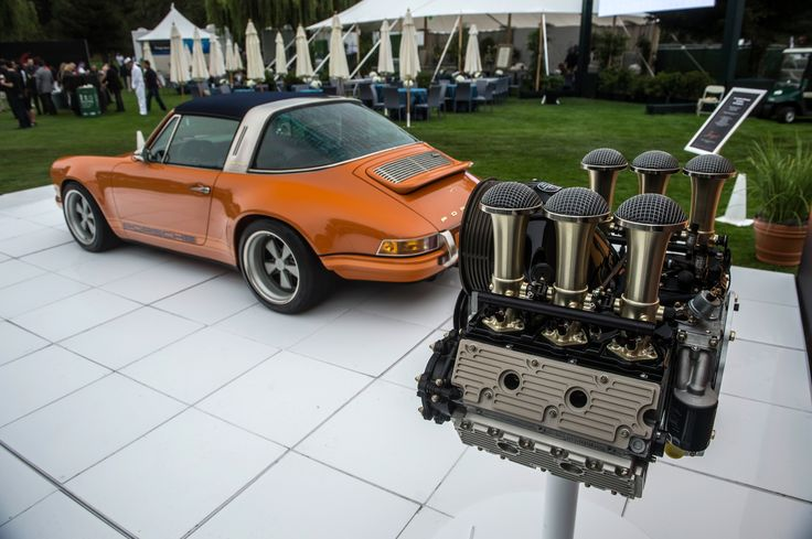 Just stunning!! :-)  Singer Vehicle Design's New 4.0L Flat Six Engine Is A Work Of Art - Petrolicious