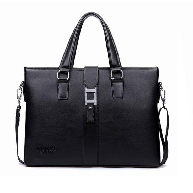 26.91$  Buy here - https://alitems.com/g/1e8d114494b01f4c715516525dc3e8/?i=5&ulp=https%3A%2F%2Fwww.aliexpress.com%2Fitem%2FPromotions-2016-Men-Casual-Briefcase-Business-Shoulder-Bag-Leather-Messenger-Bags-Computer-Laptop-Handbag-Bag-Men%2F32642434290.html - Promotions 2016 Men Casual Briefcase Business Shoulder Bag Leather Messenger Bags Computer Laptop Handbag Bag Men Travel Bags 26.91$