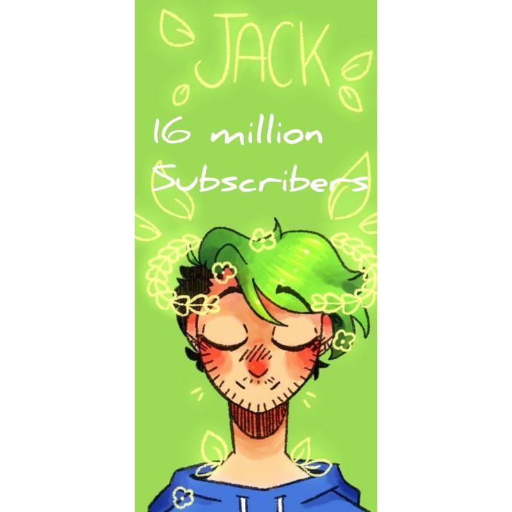 Jacksepticeye just hit 16million subs!!!!!!!