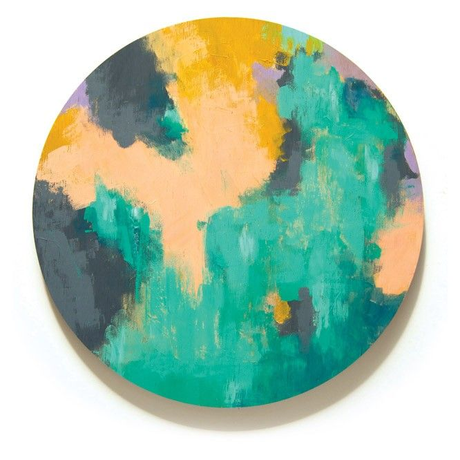 Alice Colour Wheel - Art 32cm - Hand painted in acrylic onto premium plywood. Via Print Space