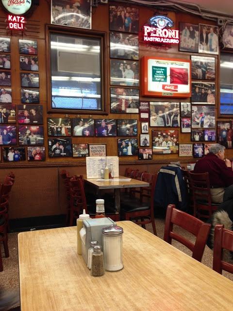New York Food - The famous Katz's deli
