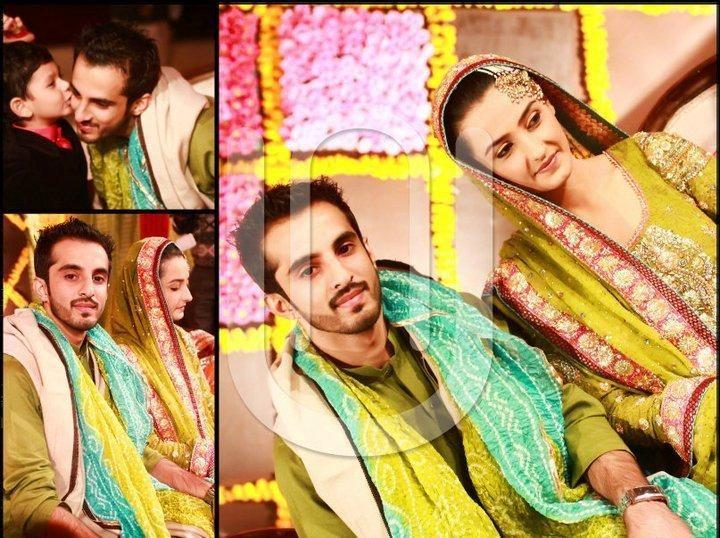 Pakistani Model Momal Sheikh Wedding Pictures Celebrity