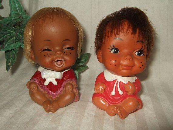 Vintage Dolls Japan Rubber Dolls 1950s Rubber Baby Dolls