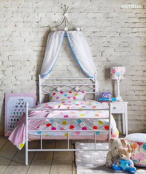 Kinderbetten - FLORIS Eisenbett Metallbett Kinderbett Jugendbett - ein Designerstück von NOTORIA_DE bei DaWanda