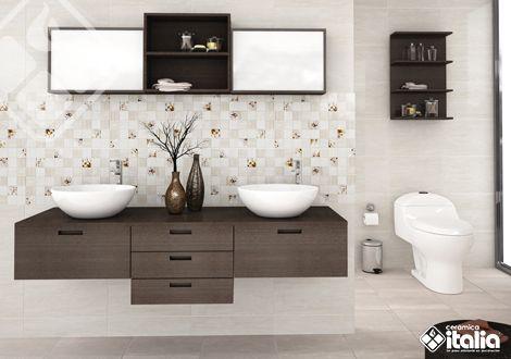 Cuando pienses en tus baños, piensa en un espacio cómodo que te ayudará a relajarte para salir renovado de casa todos los días. El ambiente Delicatezza por su diseño delicado y color suave es una opción ideal para lograr un ambiente sutil pero con mucho estilo. #ElBañoQueTeMereces #CeramicaItalia #TendenciasBaños