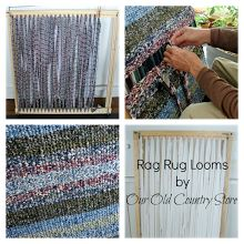 Rag Rug Looms For Sale. Can Weave At Least 8 Different Sizes From These  Looms