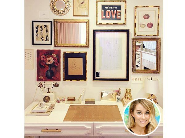 My home office inspiration :) Get the Look: Lauren Conrad's Chic Home Office http://greatideas.people.com/2014/03/12/lauren-conrad-home-office-decorating-get-the-look/