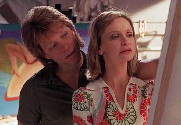 Jon Bon Jovi and Calista Flockhart in Ally McBeal (2002)