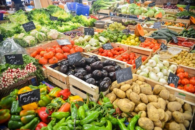 Vegetables are a great source of fibre
