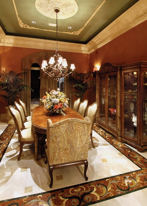 Home Builder Naples Florida Divco Construction Corp Divcohomes Beautiful Dining RoomsMarco