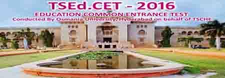 TS EDCET Results 2016,Telangana BEd Entrance Results,tsedcet.org, TS EDCET Telangana Exam, Education Common Entrance Test,TS EDCET Exam Results